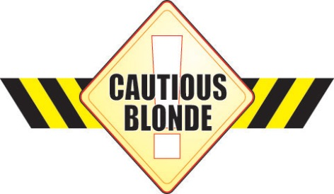 Cautious Blonde Logo